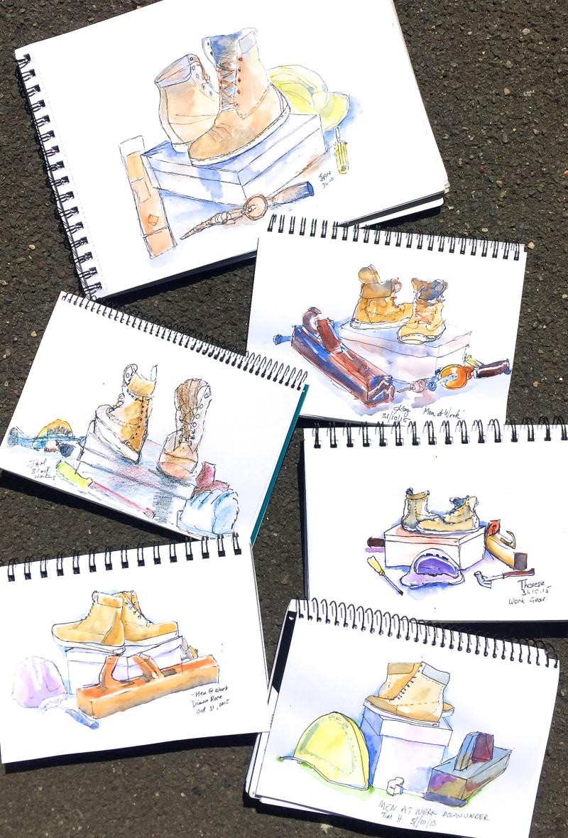 Sat Gen. Workboots sketch