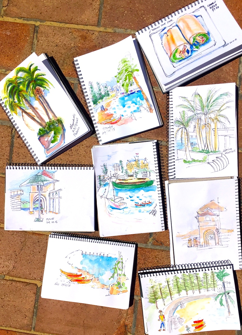 Thurs Gen. Sketches from the cafe