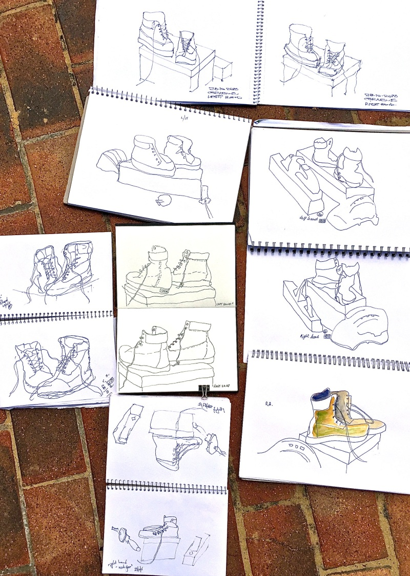 Wed Gen. Left & Right handed sketches