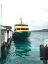 Wed Gen. Manly Ferry approaches