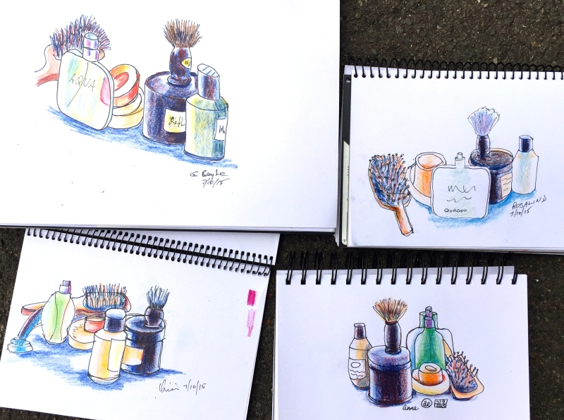 Wed Gen. Shaving Still lifes