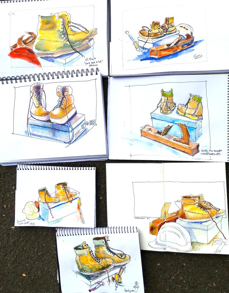 Wed Gen. Workmans kit sketches