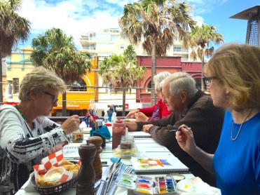 Wed Gen:Int Lunch at New Brighton