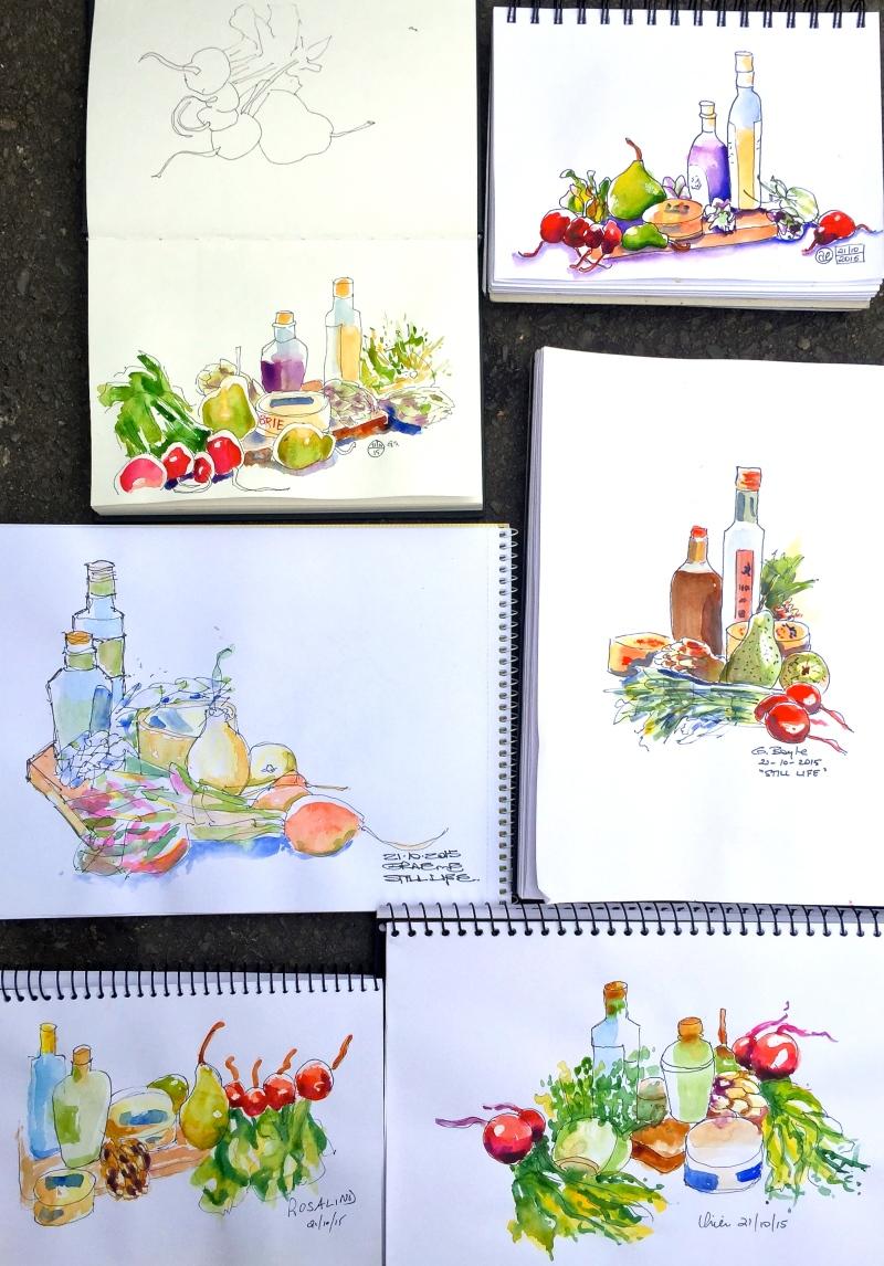 Wed Int:Gen. Food sketches