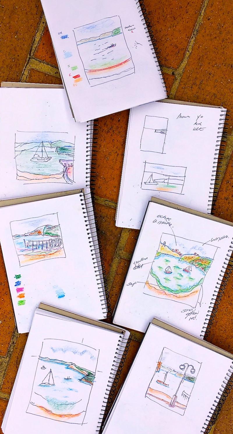 Wed New. Sketch studies