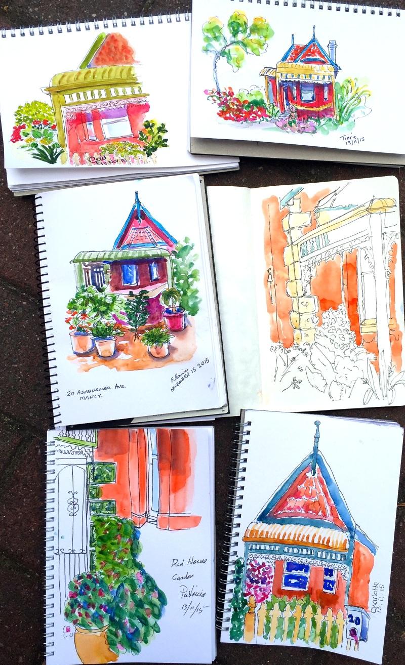 Fri Gen. Cottage sketches