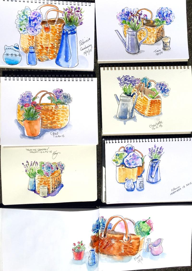 Fri Gen. Studio cottage flowers