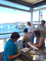 FriGen. Manly Wharf Hotel sketches