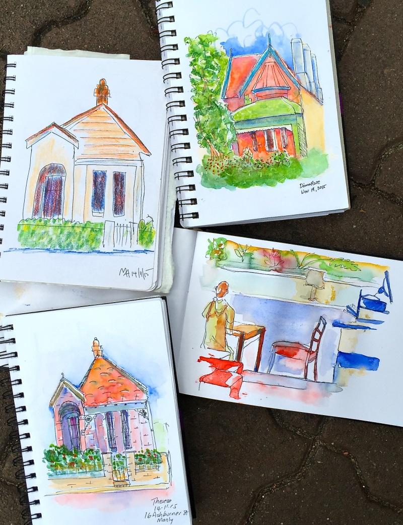 Sat Gen. Cottages and cafe