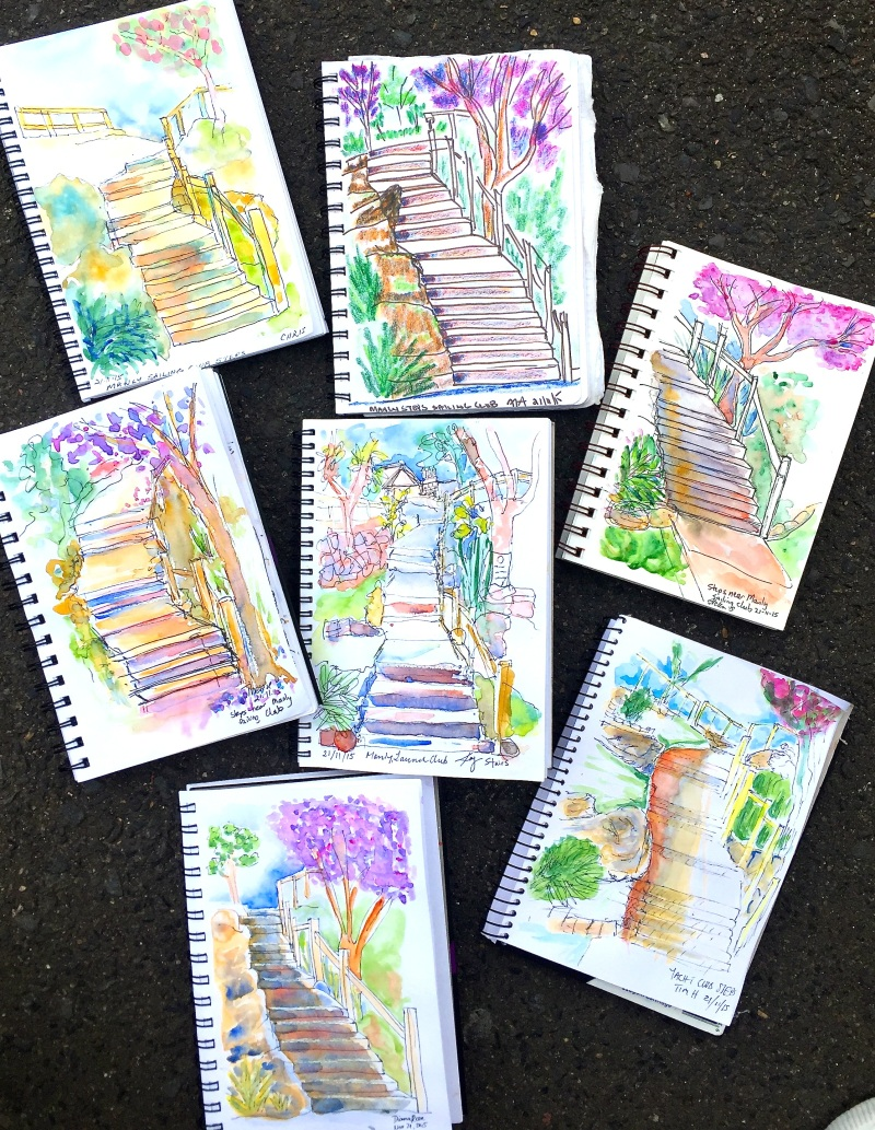 SatGen Steps and Jacarandas