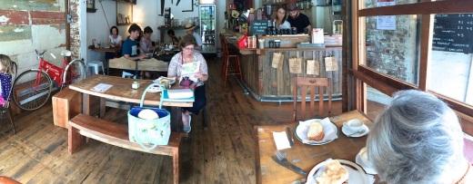 SatGen The Roast Office cafe