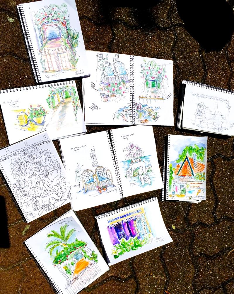 Thur Gen. Garden vignettes