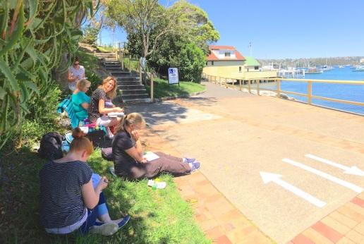 Tues Gen Along Manly Cove
