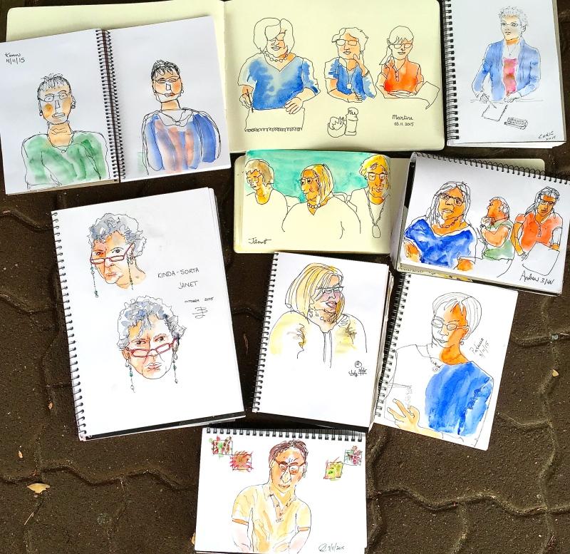 Tues Gen. Contour sketching