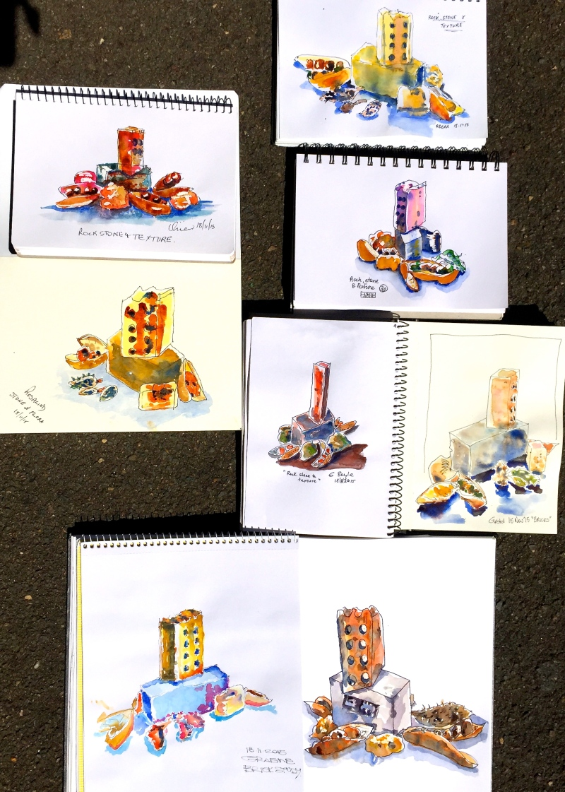 Wed Gen Brick and plant sketches