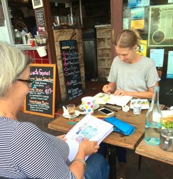 Wed Gen Cafe sketching