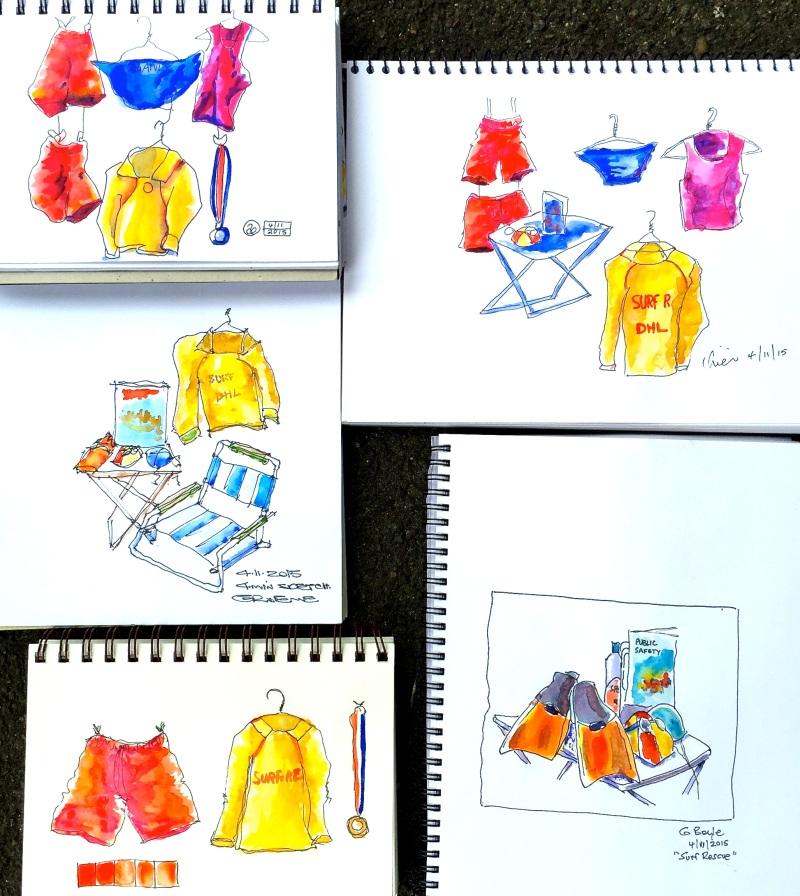 Wed Int:Gen. Surf Sketches
