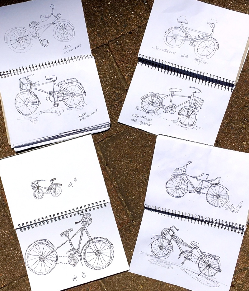 WedNew. What does a bicycle look like