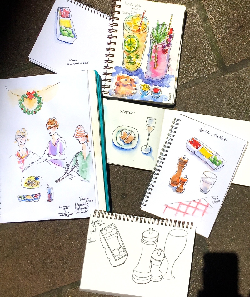 FriGen. Appetito sketches