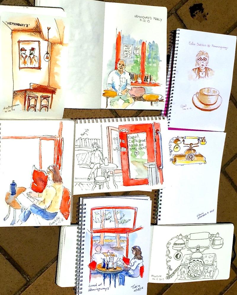 FriGen. Hemingways sketches