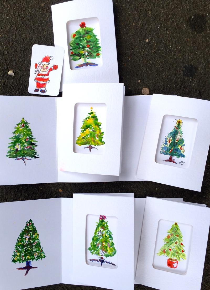 FriGen. Tree cards