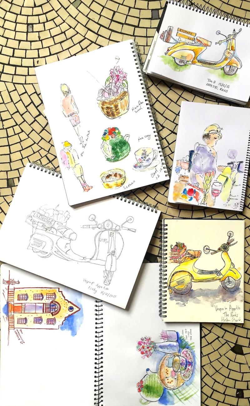SatGen. Appetito sketches