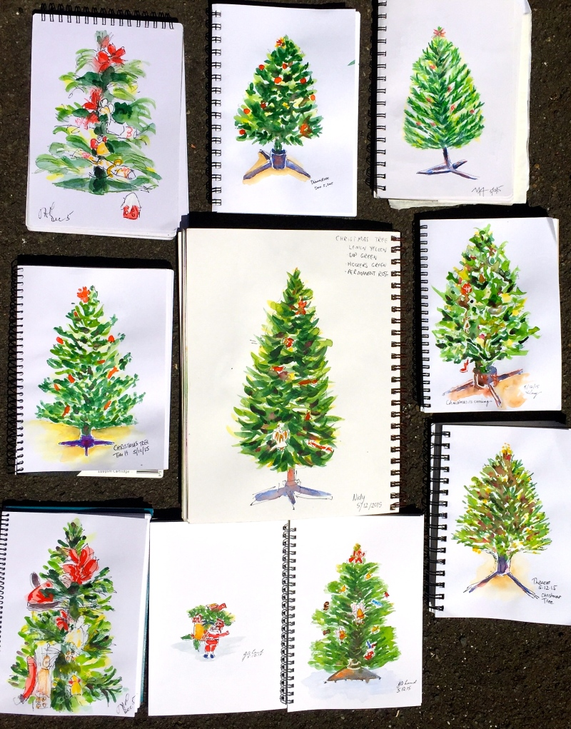 SatGen. Studio trees