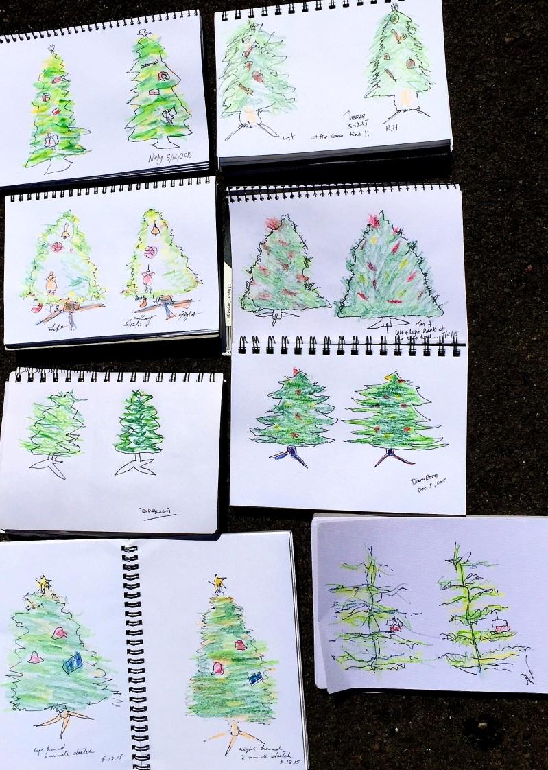 SatGen. Two handed sketching