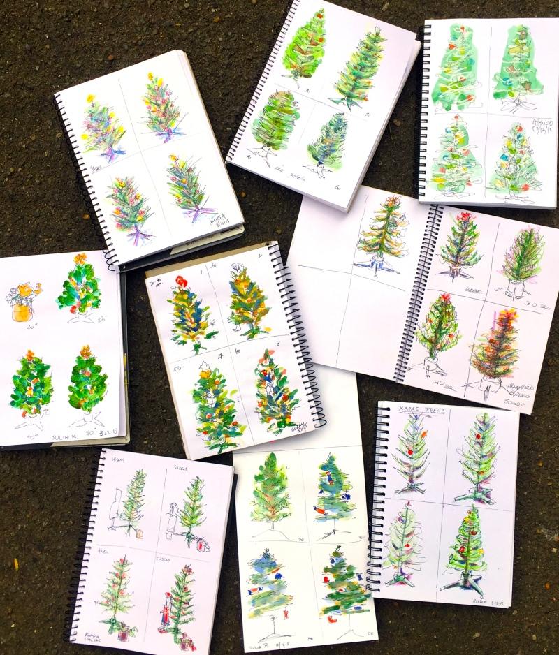 ThursGen. 4 quick sketches
