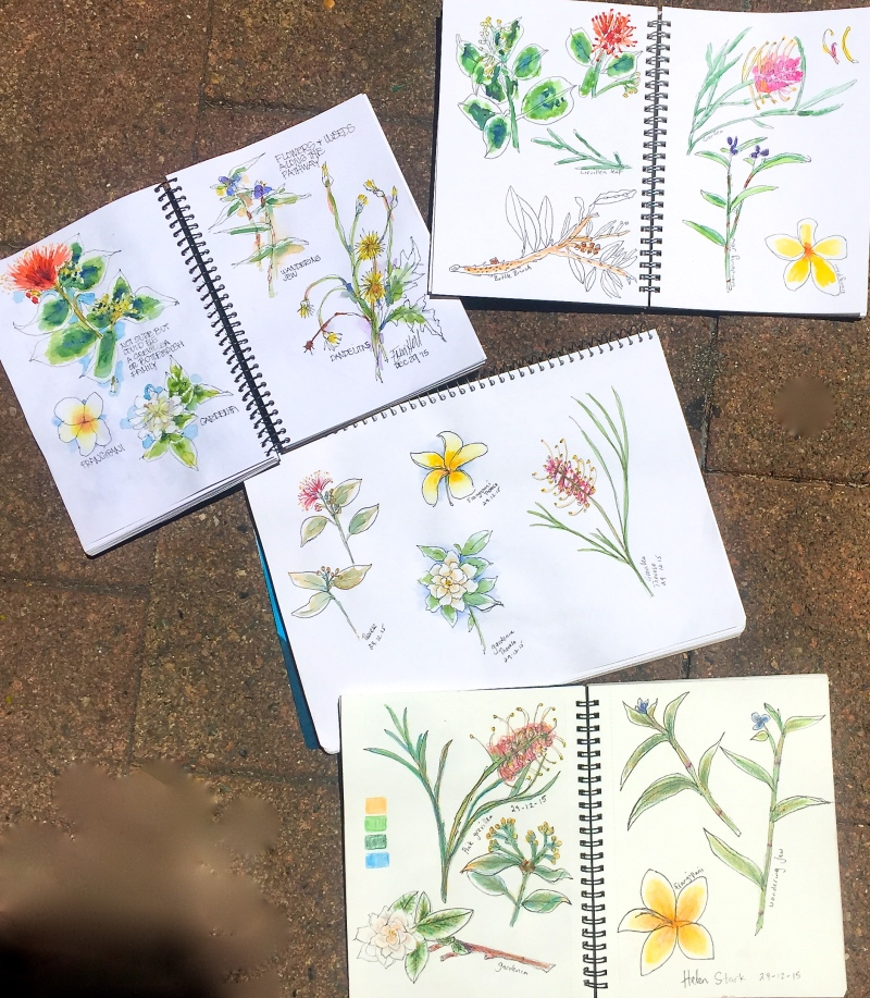 Tuesday Summer sketches