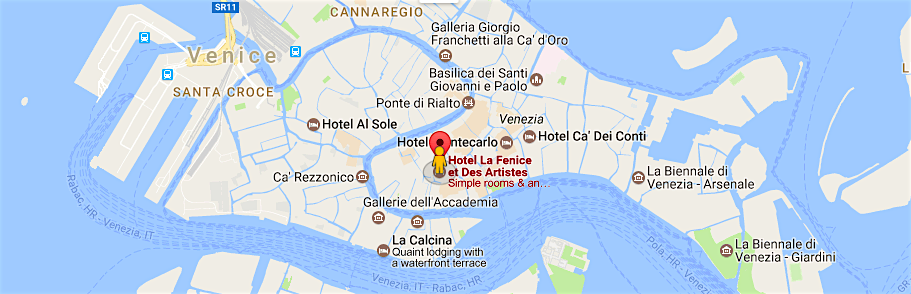 Venice Sketching Holiday: Venice Biennale 2017 Map At Infoasik.co
