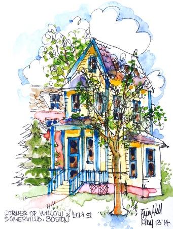 Boston style home
