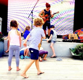 Dancing at The Newport