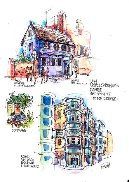 Boston Sketches
