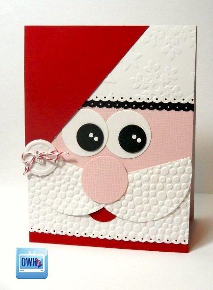 cute-handmade-santa-claus-christmas-cards