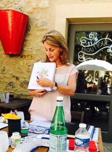 Kate at Fabrezan France