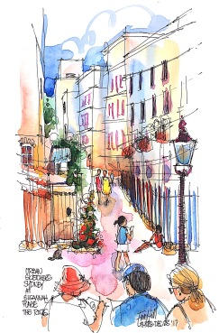 EHS White Nights Paint @ Urban Sketchers