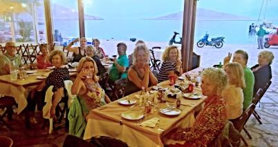Dinner by the sea, Halki